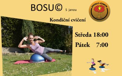 BOSU- kondiční cvičení se opět rozjíždí